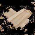 Ламинированный пакет с окном бежевый