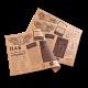 Бумажная скатерть из крафт бумаги (плейсмет, наперон)