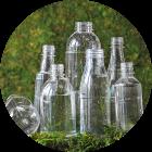 Пластиковые бутылки и баночки