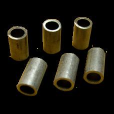 Пломбы алюминиевые, трубчатые