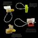 Роторные пломбы, используемые с проволокой