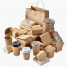 Эко упаковка из картона (бумажные контейнеры)