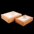Универсальный картонный контейнер с окном