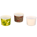 Бумажная креманка - чаша