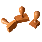 Оснастки для печатей и штампов ручные