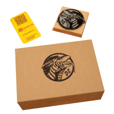 Штамп для коробок