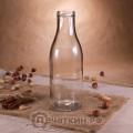 Стеклянная бутылка «Молочная», 0.5 л, ТО-43