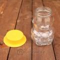 Стеклянная банка «Мишка со шляпкой», 0.295 л, ТО-58