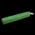 Сургуч с фитилем изумрудно-зеленый