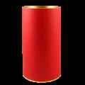 Тубус картонный красного цвета