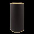 Тубус картонный черного цвета