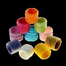 Шпагат бумажный цветной