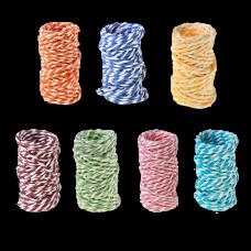 Шпагат бумажный двухцветный