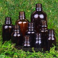 Флаконы коричневое стекло