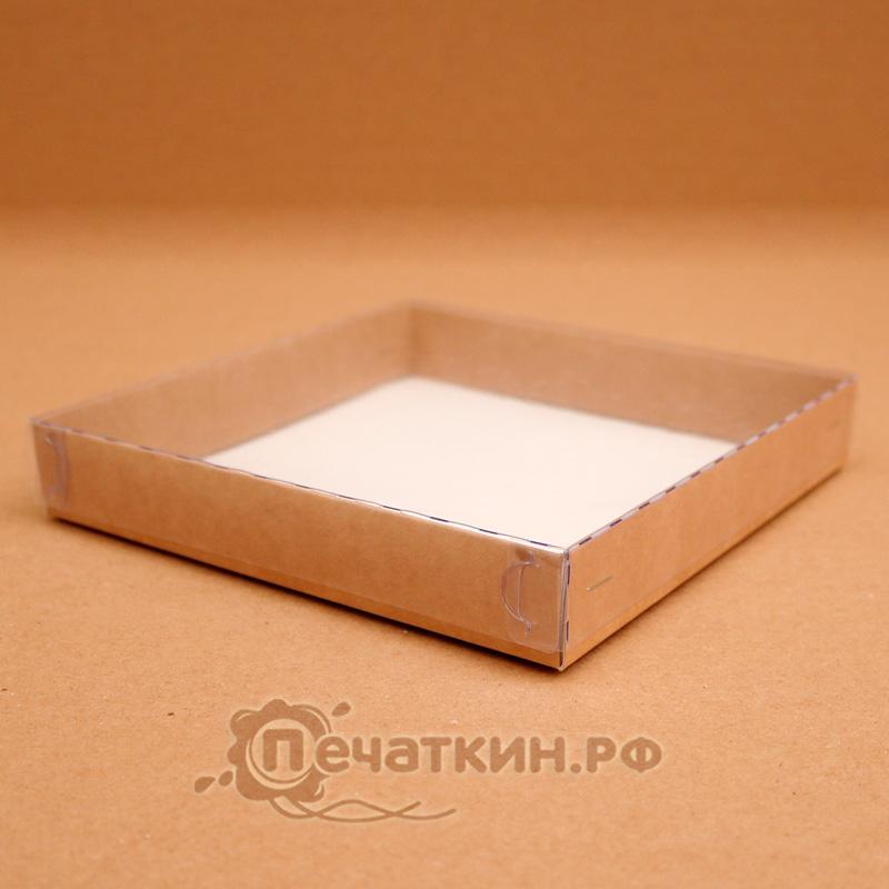 Коробочки с пластиковой крышкой