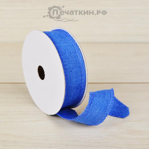 Лента синего цвета