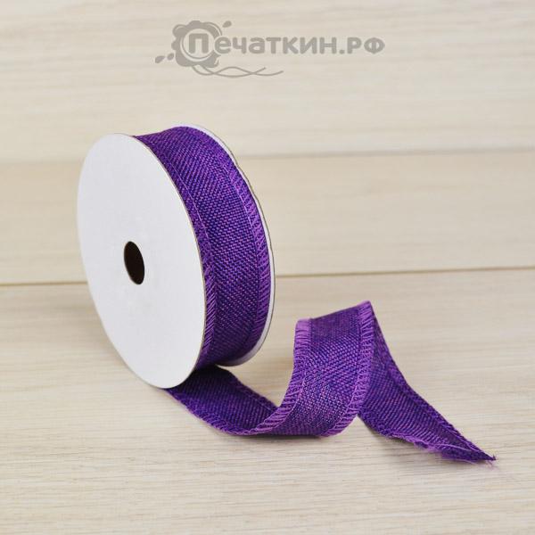 Лента для цветов и декора из ткани