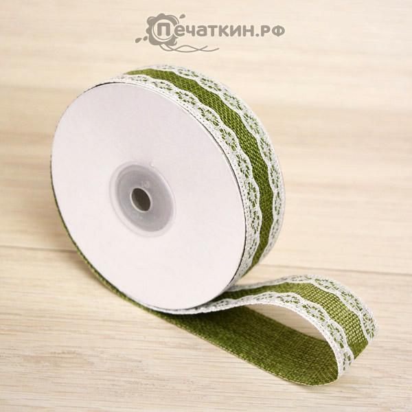 Зеленое кружево лента