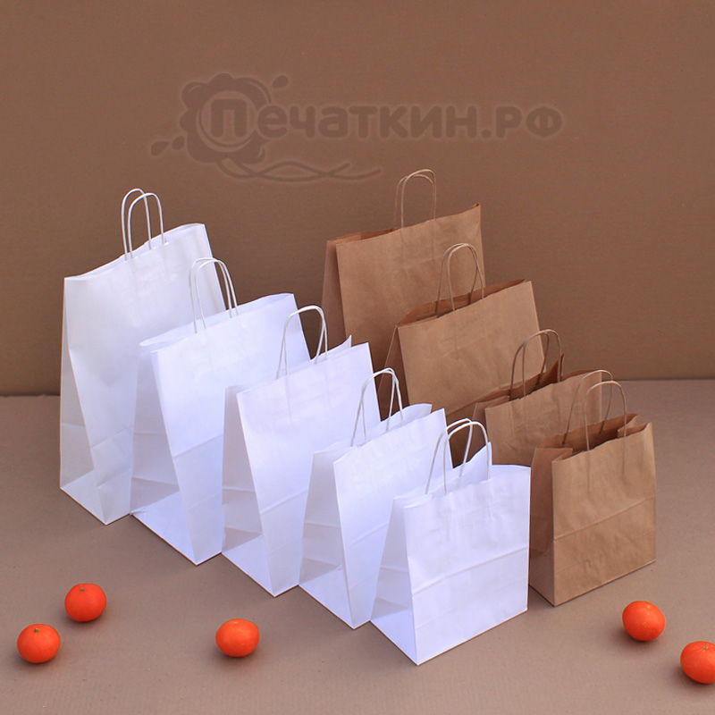 Бумажные пакеты в Челябинске